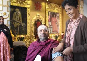 Health checks in Hindu temple