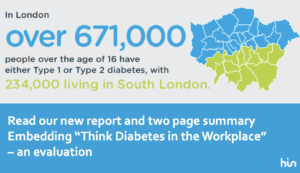 Image of map of London with diabetes cases